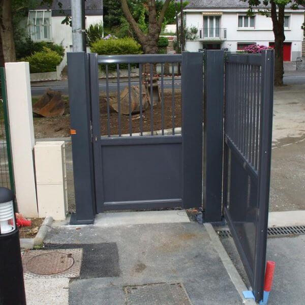 Portail porte portillon entretien r paration et pose for Portillon de jardin aluminium